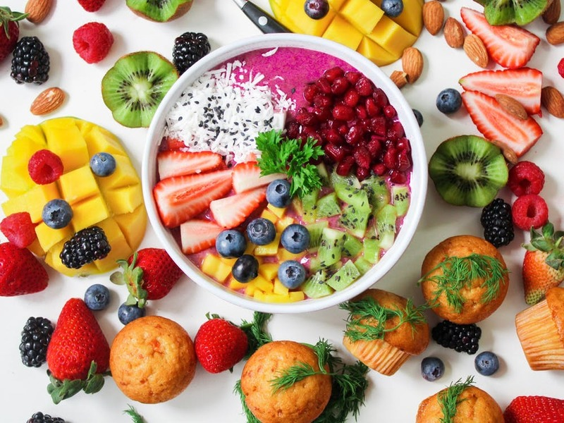 a variety of fruits and veggies  - Choose a Healthy Eating Plan